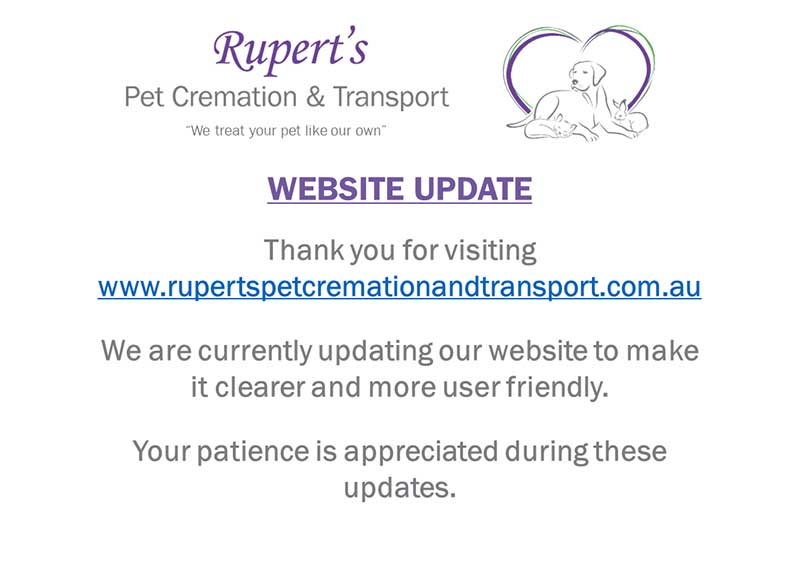 Ruperts Pet Cremation Transport Awards Training
